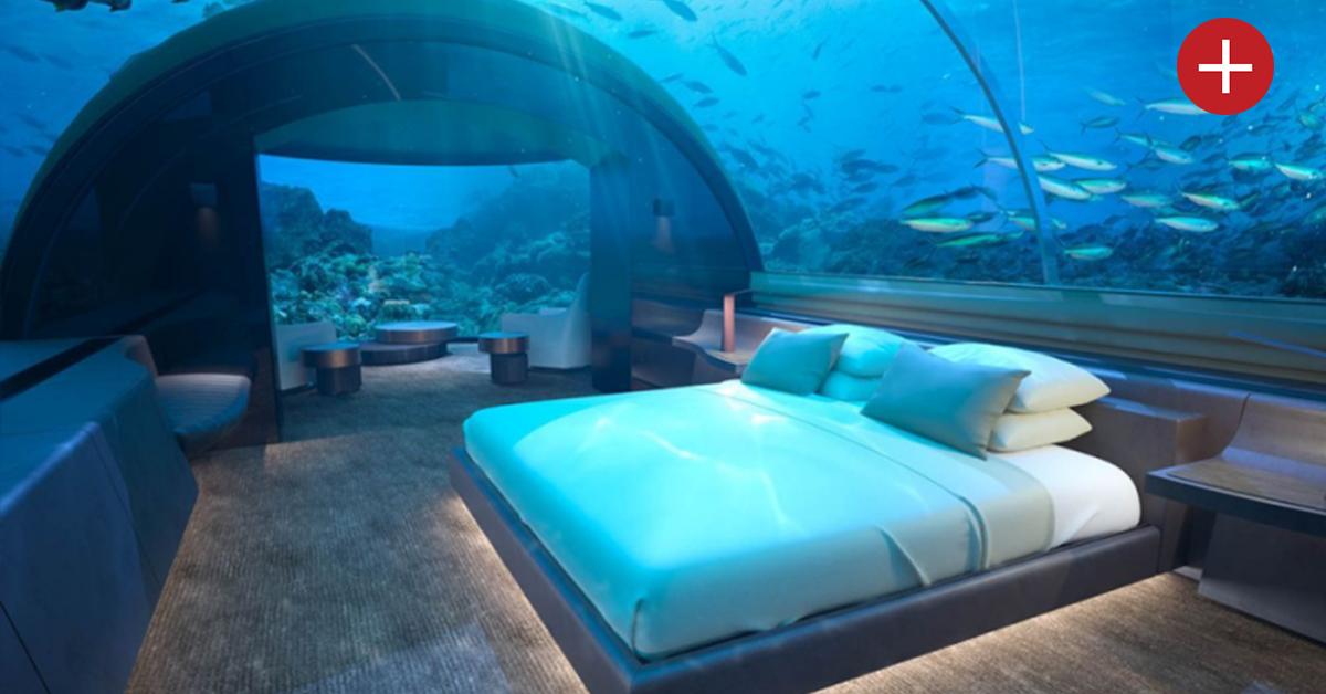 Qui veut dormir dans un hôtel sous-marin aux Maldives ?