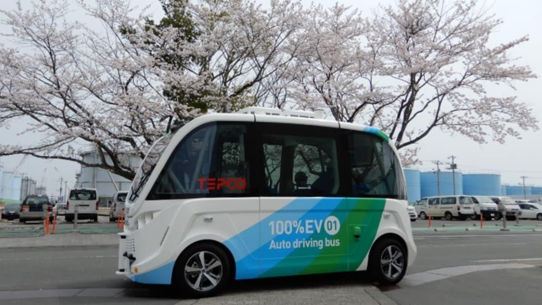 Des navettes autonomes « made in France » bientôt utilisées à Fukushima