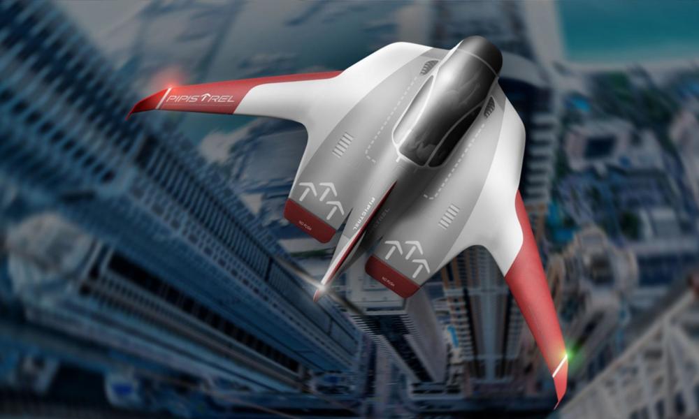 Cet aéronef à décollage vertical sait éviter les embouteillages