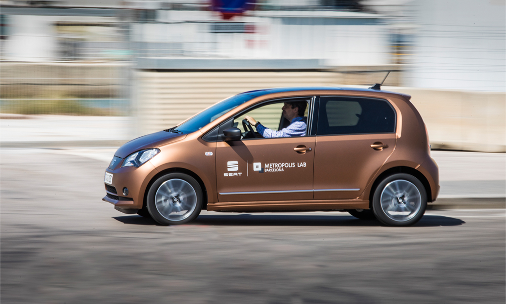 SEAT lance une plateforme de voitures électriques partagées à Barcelone