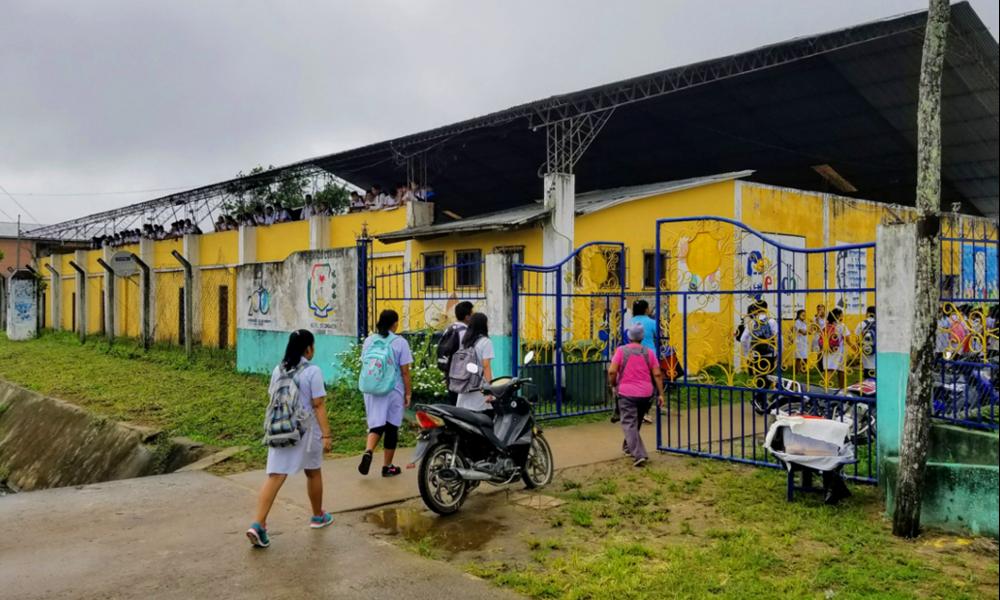 Voyage en Bolivie, dans l'école du développement durable
