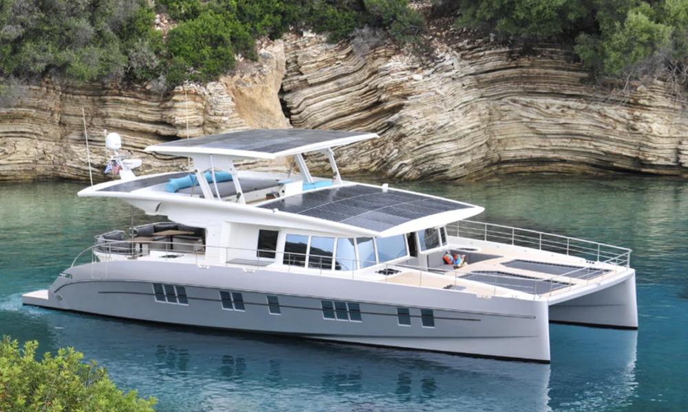 Ce yacht 100% solaire parcourt les mers sans polluer