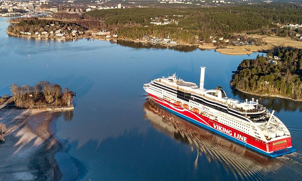 Bon vent : ce ferry propre carbure au vent marin