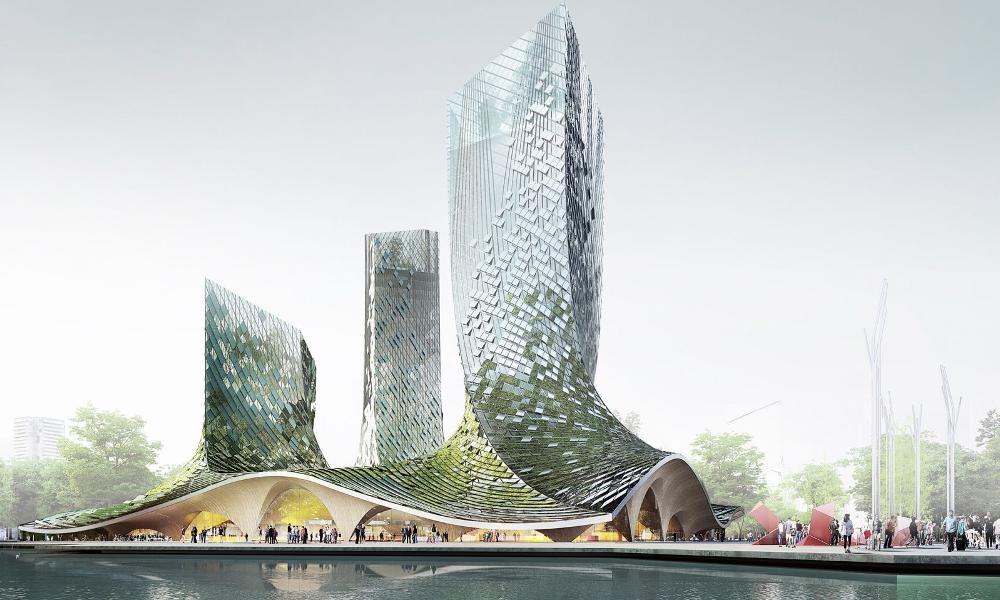 La Chine respire mieux grâce à cet immeuble d'algues