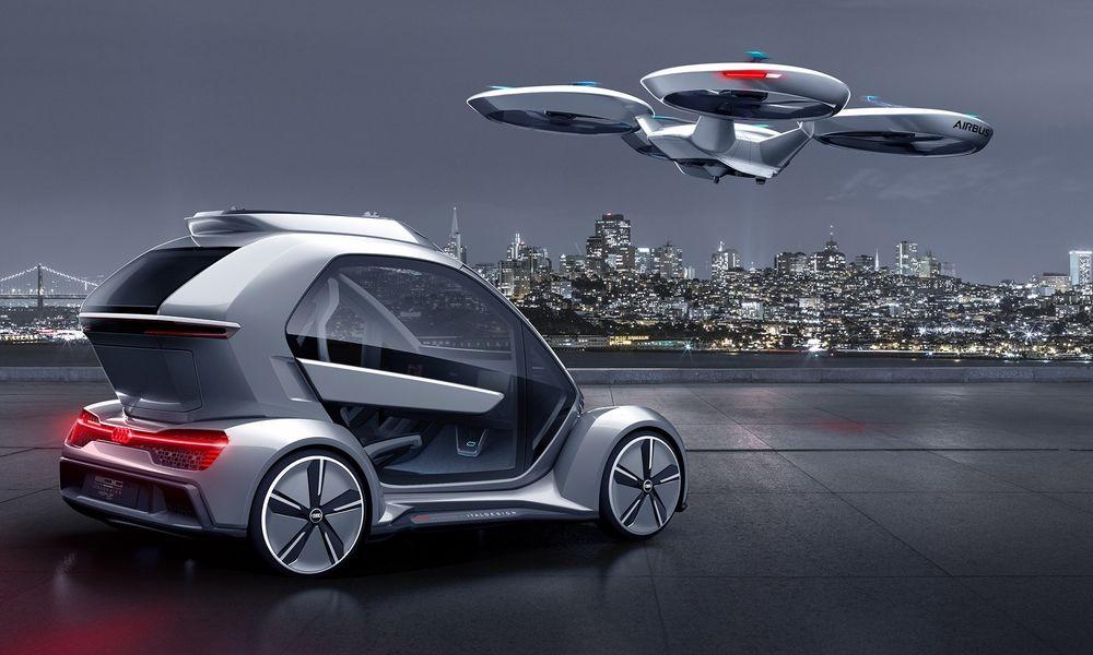 Mi-avion mi-voiture, ce drone pourrait désengorger les centres-villes