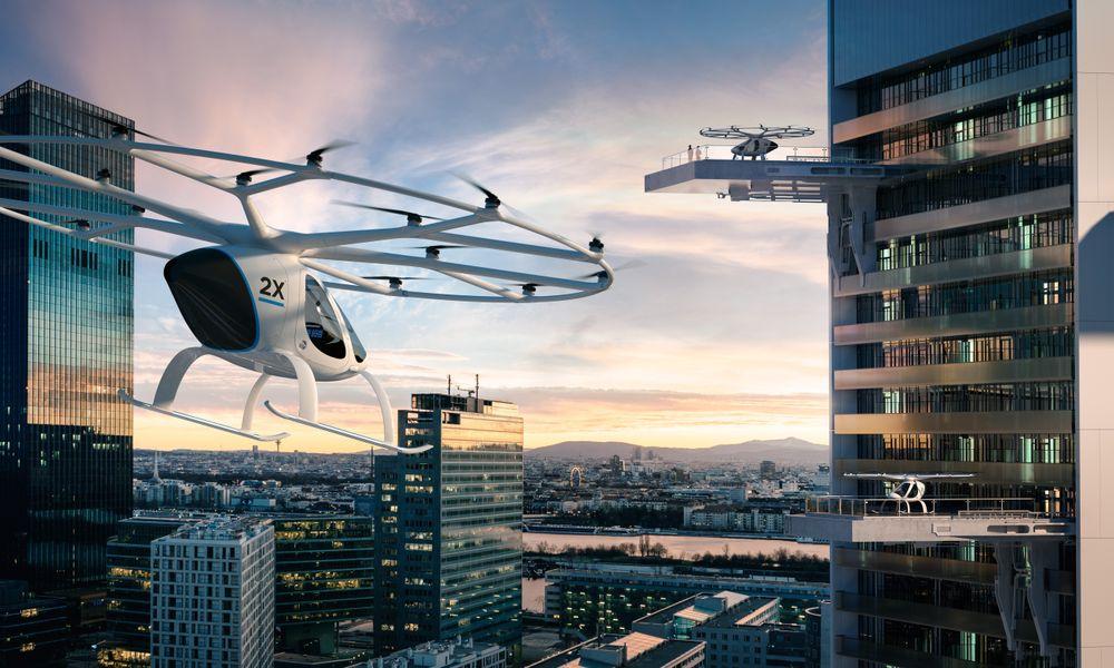 On sait enfin à quoi ressembleront les stations de taxis volants