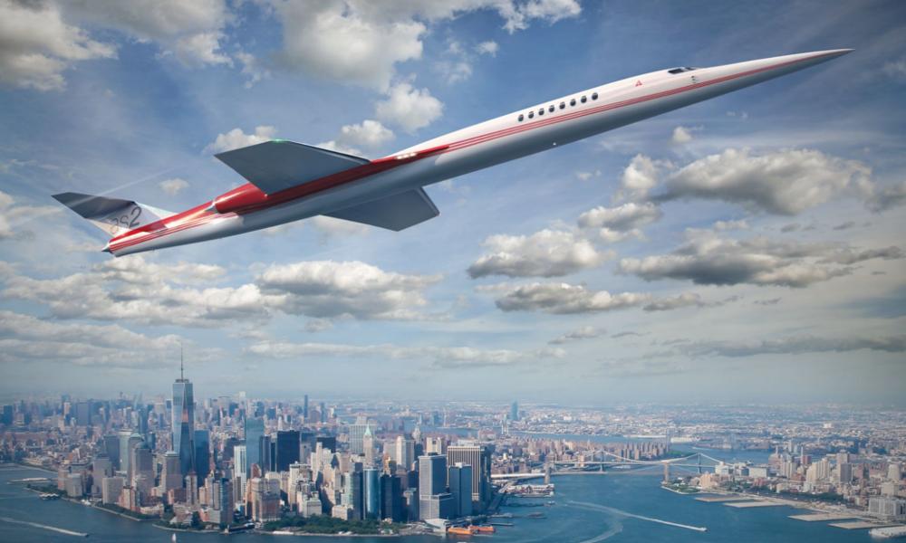De Paris à New York en 3h30 avec le jet le plus rapide du monde