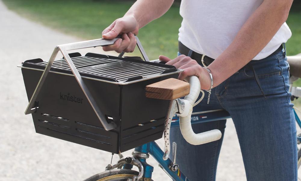 Chaud devant : on peut transformer son vélo en barbecue roulant