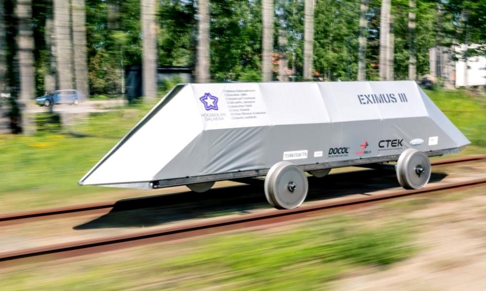 Des Suédois inventent le train qui consomme moins…