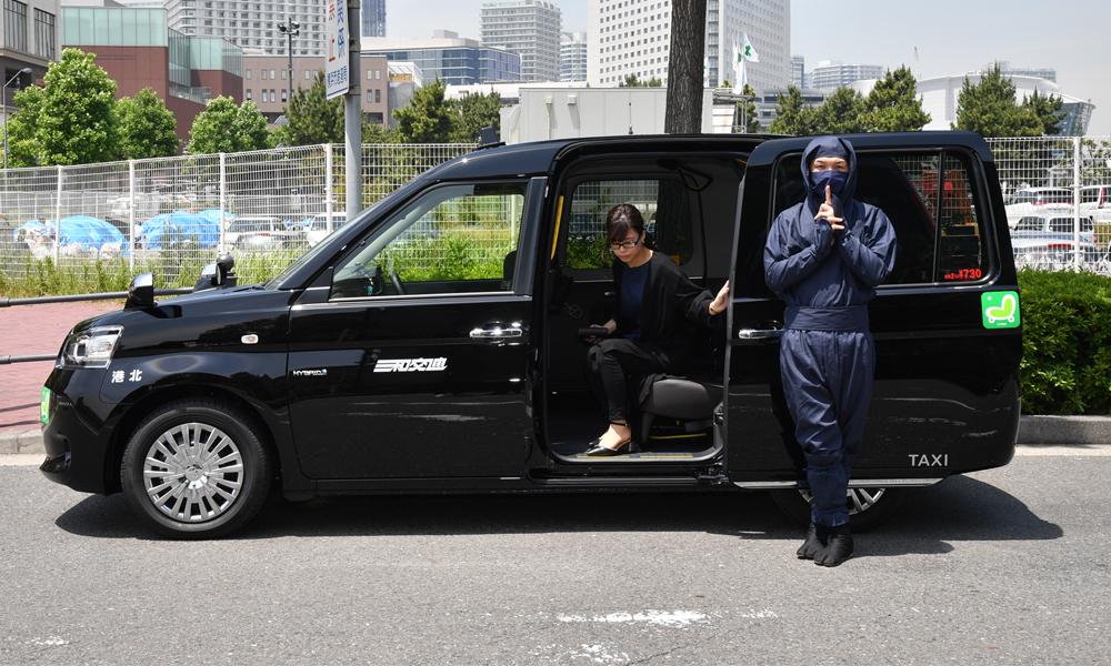 Qui veut monter dans des taxis conduits par des ninjas ?