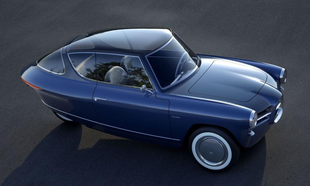 Les fans de James Bond vont adorer cette voiture électrique à trois roues