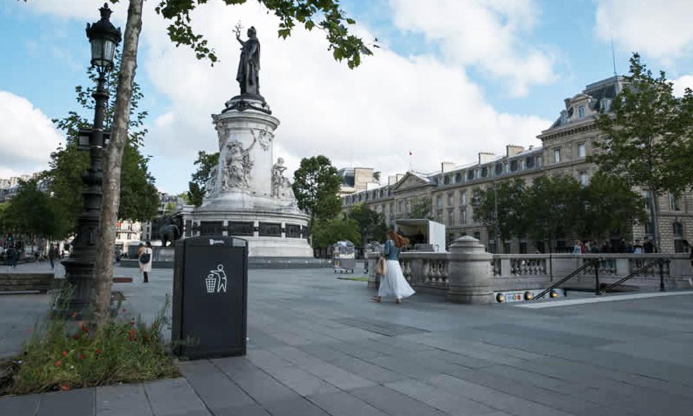 Paris invente les poubelles qui ne débordent jamais