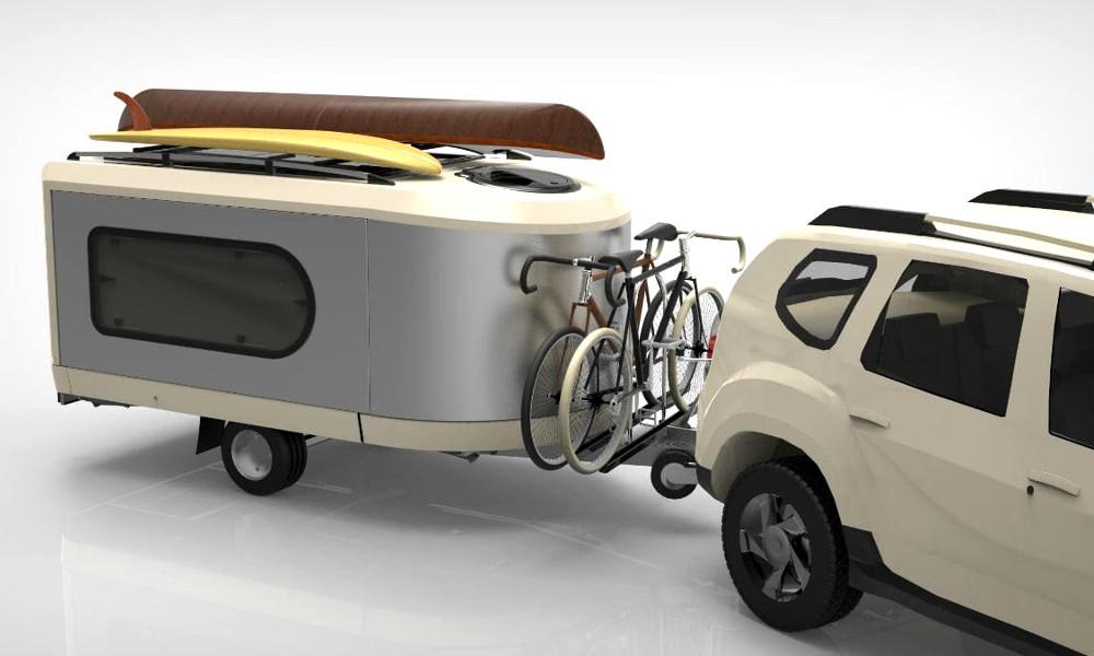 Deux Vendéens ont inventé la « caravane » de poche