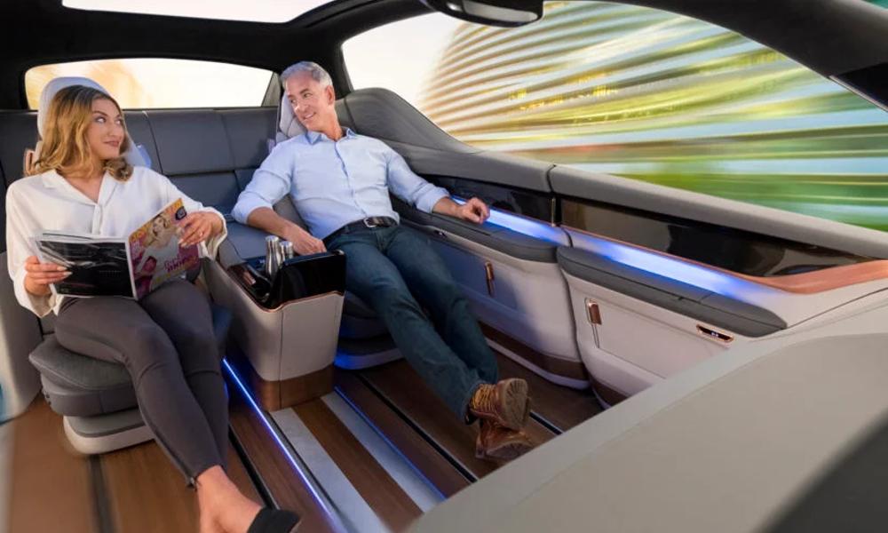 D'après une étude, les voitures autonomes vont nous rendre plus bavards