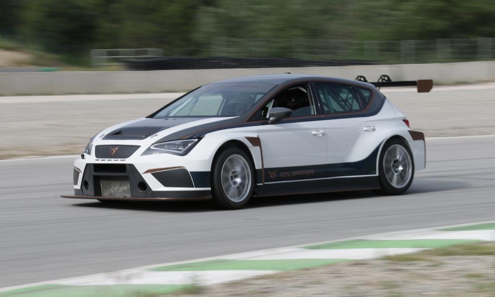 Avec l'E-Racer de SEAT, les voitures de course passent aussi à l'électrique