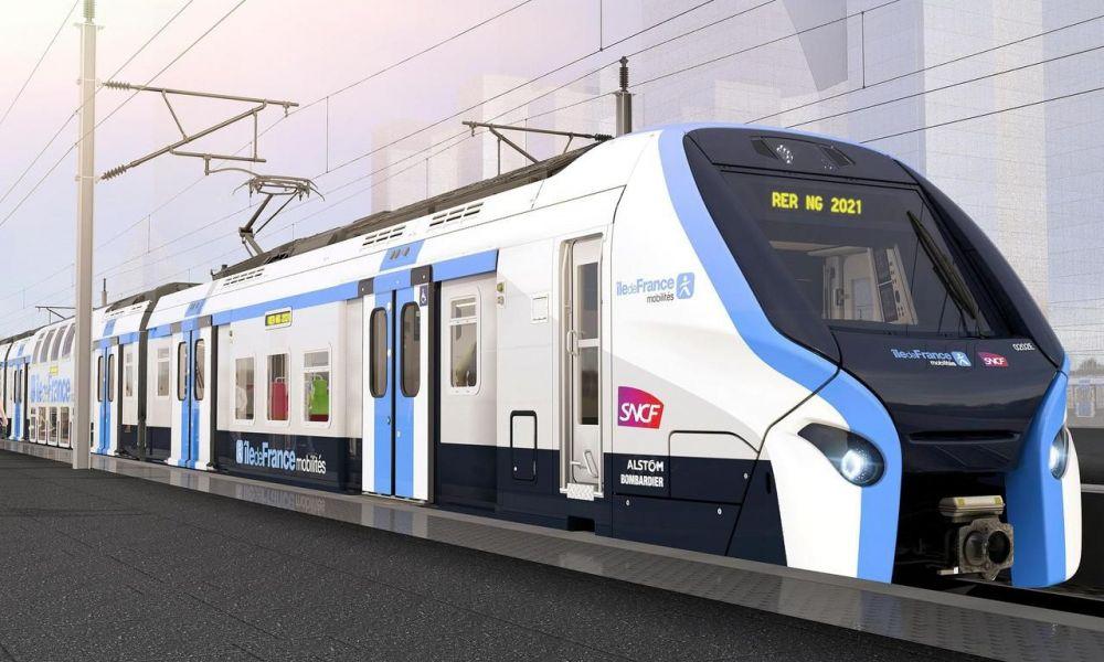 """La SNCF dévoile le """"RER du futur"""", prévu pour 2021"""
