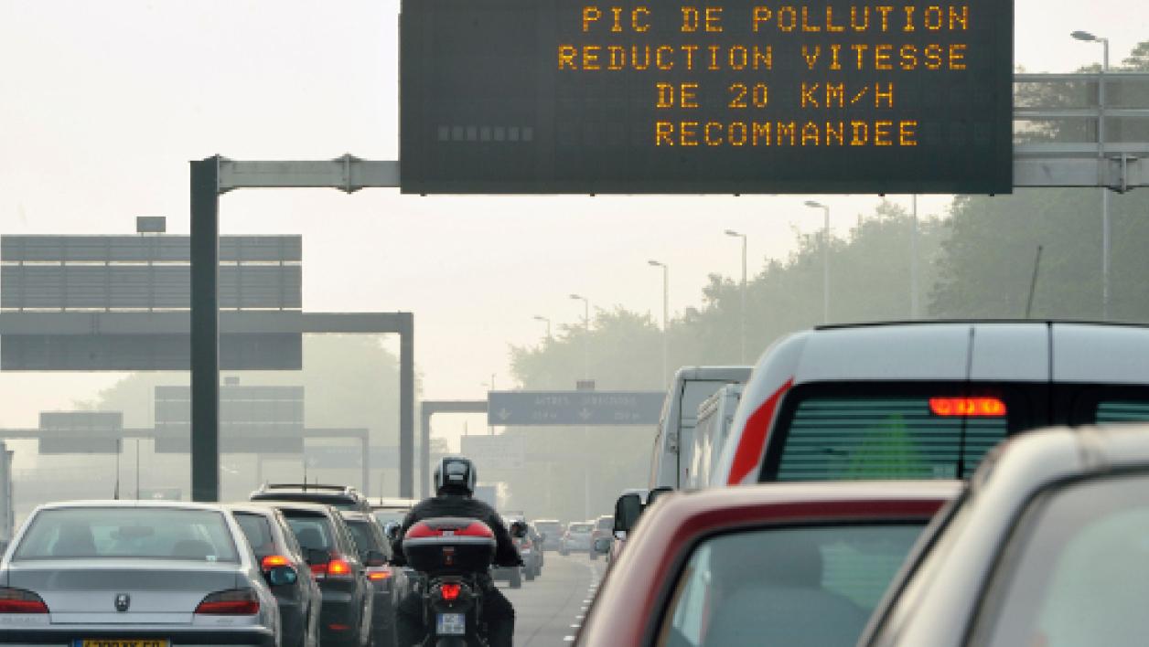 Des radars anti-pollution en test à Paris