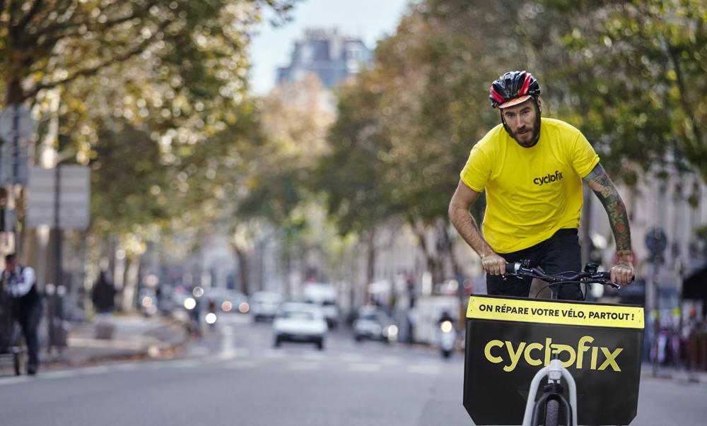 Cyclofix, le service de réparation de vélos à domicile