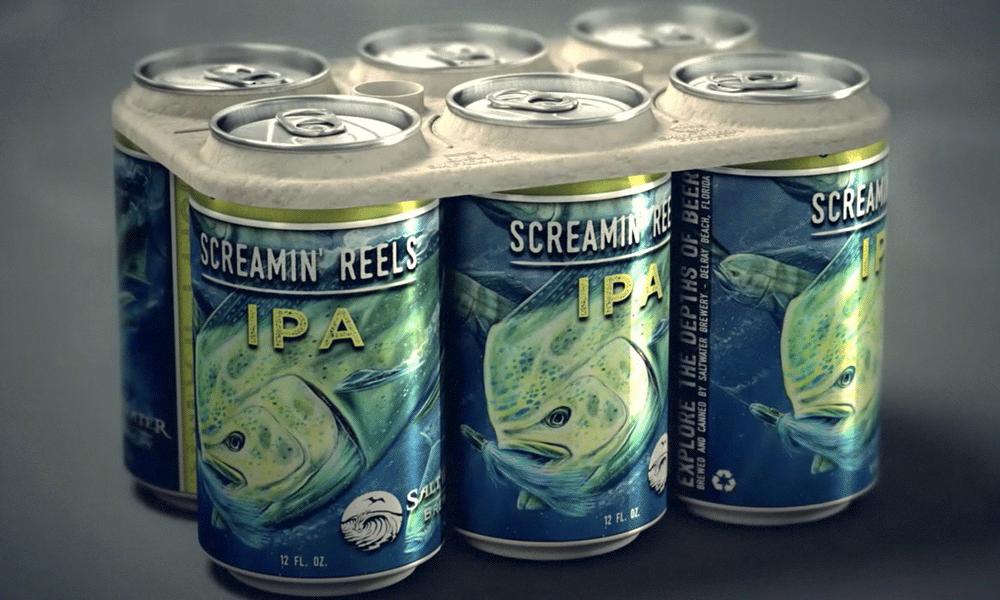 Ce pack de bière est comestible et ne tue pas les animaux