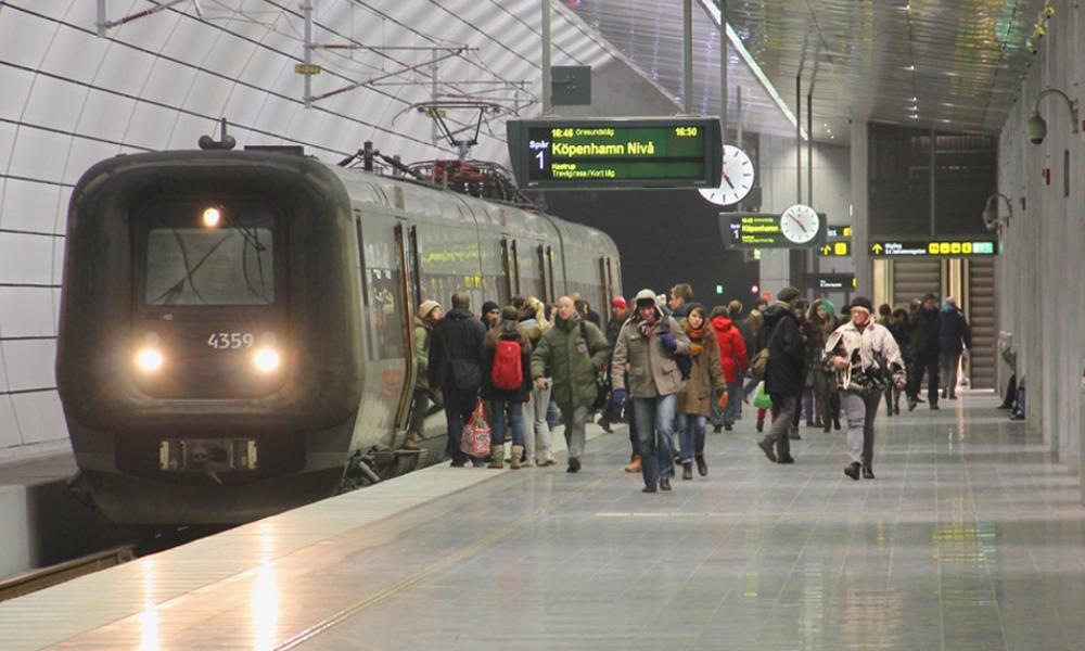 Copenhague métro
