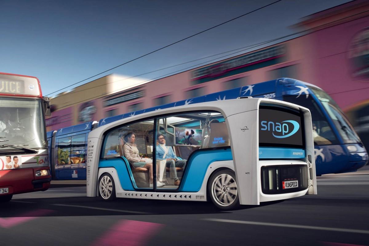 Transport, bureau et même maison : voilà la voiture autonome à tout faire