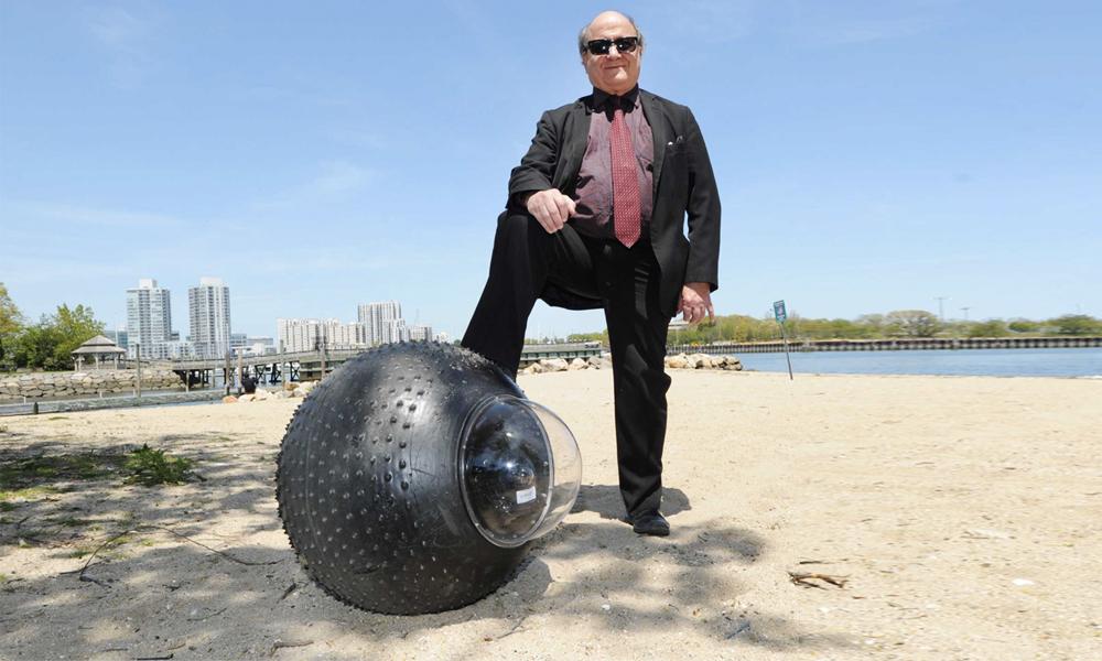 Il flotte et roule partout : ce drone-pneu géant peut remplacer tous les secouristes de plage