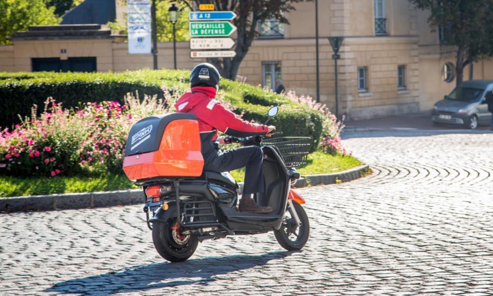 Des Français veulent livrer vos pizzas en scooter électrique