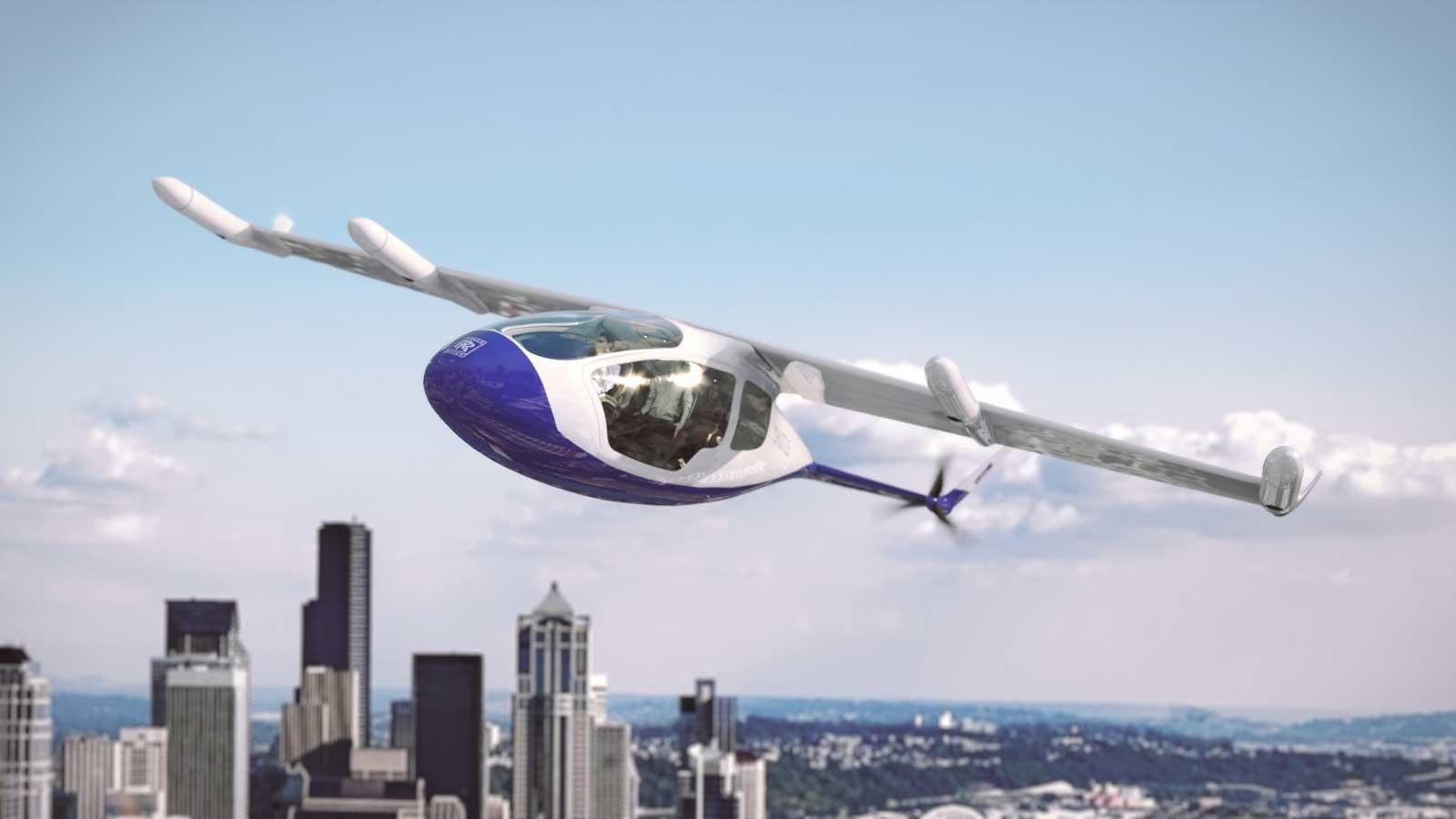 Rolls-Royce annonce un taxi volant pour 2023
