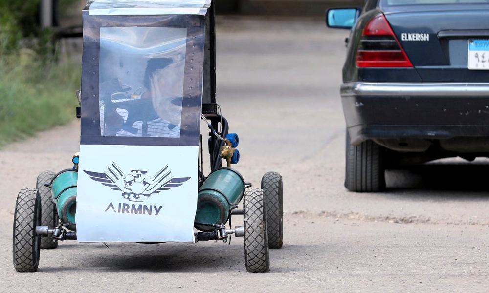 Essence trop chère ? L'Égypte invente la voiture qui roule à l'air comprimé