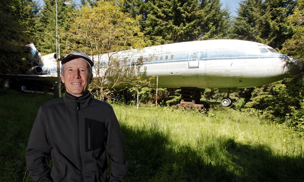 Pour le prix d'un studio à Paris, ce retraité vit dans un Boeing