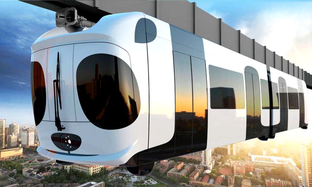 En Chine, une ville construit un métro-panda aérien