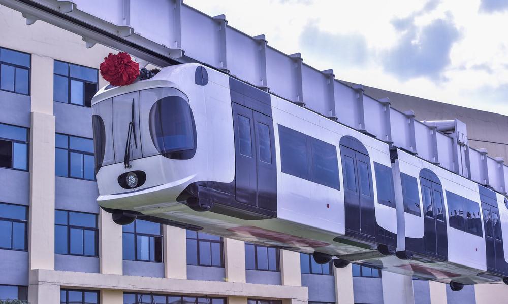 Chengdu panda metro inauguration
