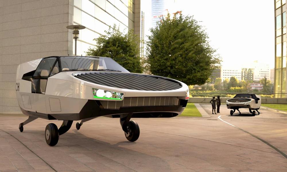 Le premier taxi volant à l'hydrogène est prêt à décoller