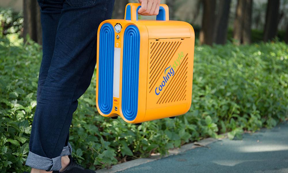 Une mini clim' portable pour rester cool partout