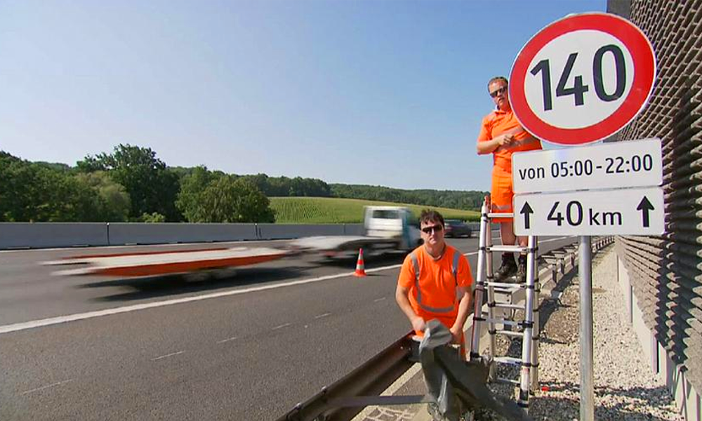 Coucou la France, l'Autriche AUGMENTE sa vitesse maximale à 140 km/h