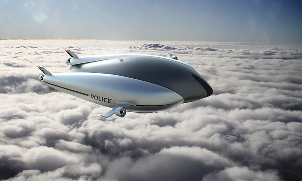 Les flics du futur patrouilleront-ils en dirigeable électrique ?