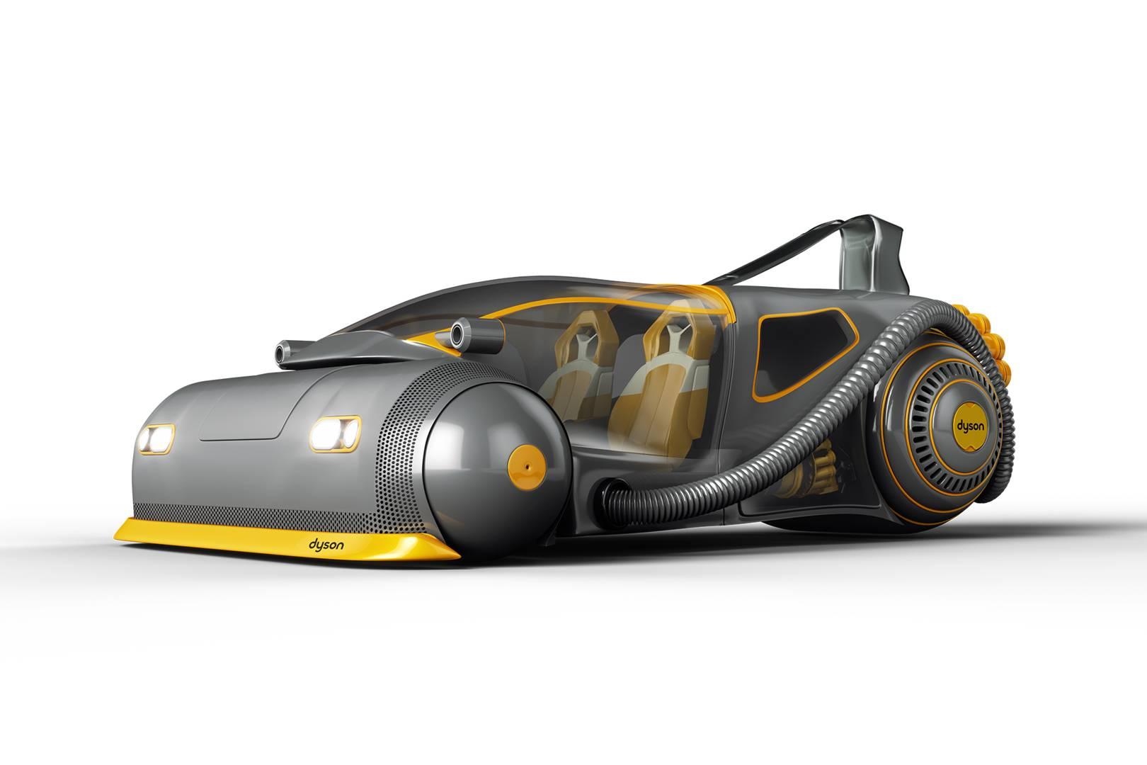 N'importe quoi: les aspirateurs Dyson préparent une voiture électrique