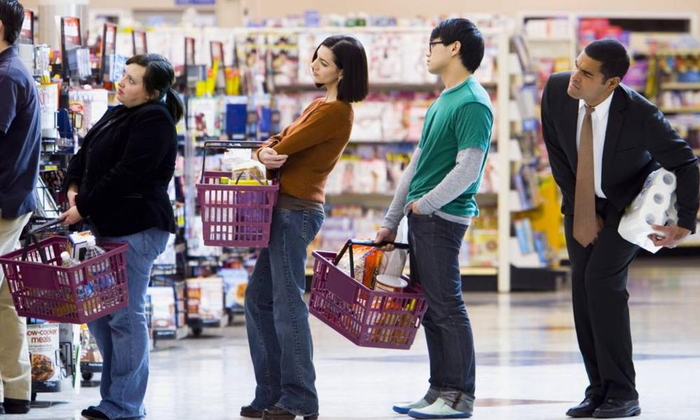 Marre d'attendre au supermarché ? Une startup fait la queue à votre place