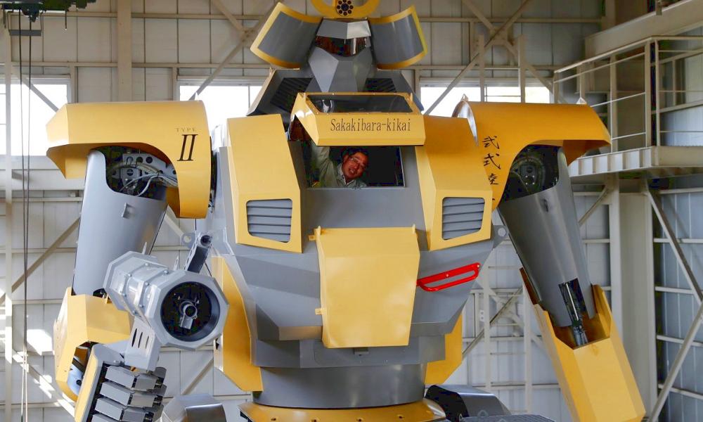 Ce Japonais a construit son propre Goldorak (et il marche)
