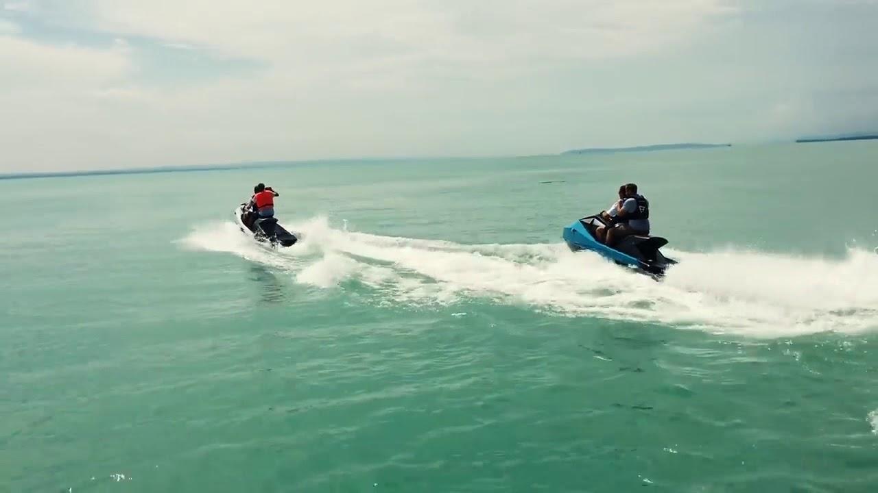 Le premier jet-ski électrique fend les mers