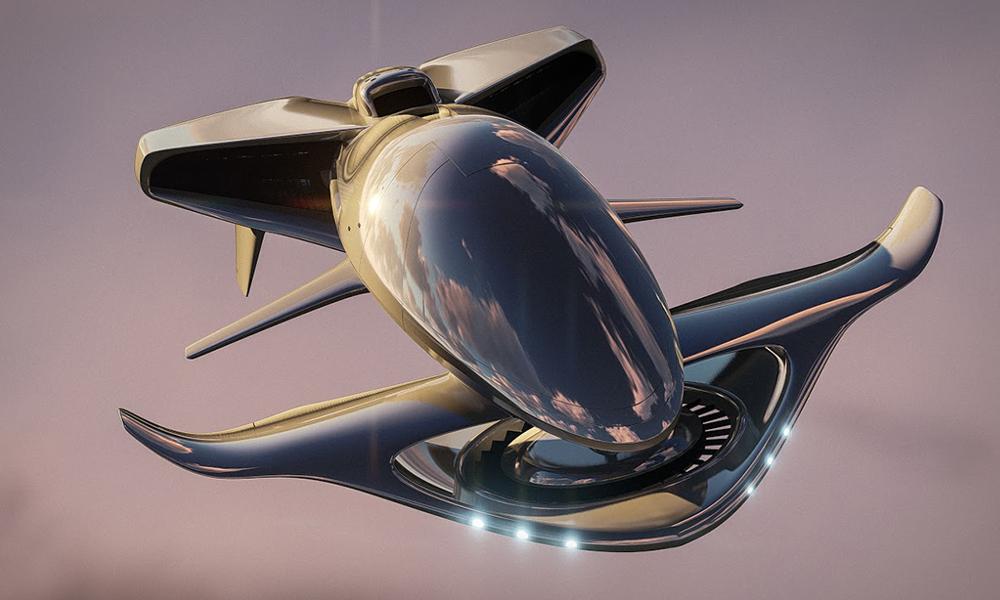 N'importe quoi : voici une soucoupe volante autonome et amphibie