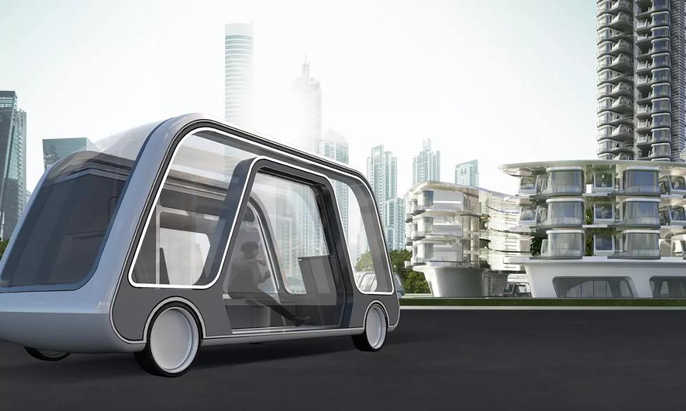 Cette voiture autonome est aussi votre chambre d'hôtel
