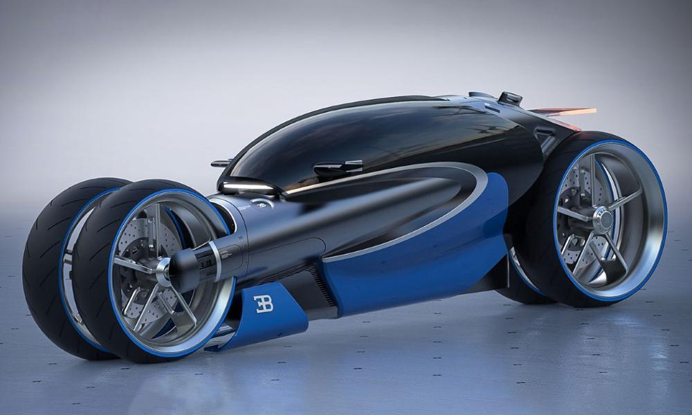 Quatre roues, un habitacle et électrique : et si c'était ÇA la moto du futur ?