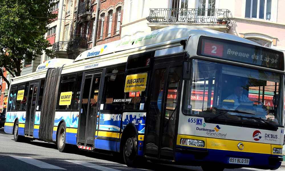 À Dunkerque, tous les bus deviennent gratuits