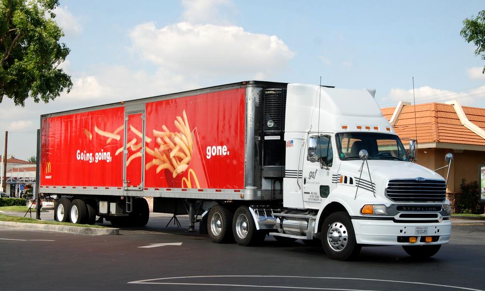 Chaud devant : les camions de McDonald's carburent à l'huile de frites
