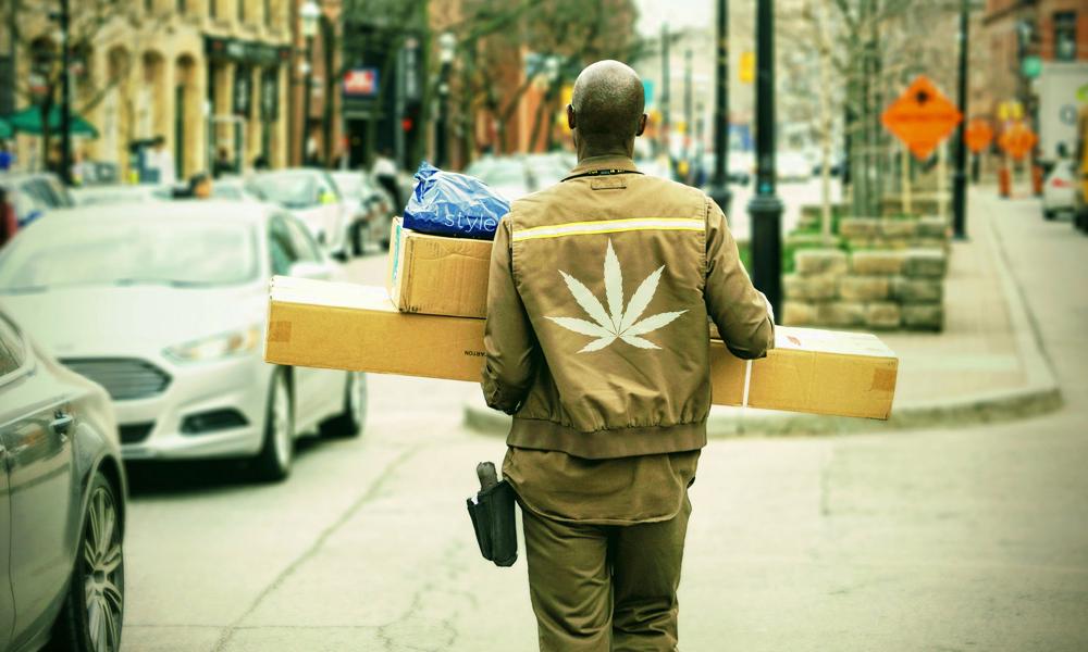 En Californie, le « Uber du cannabis » livre la weed à domicile