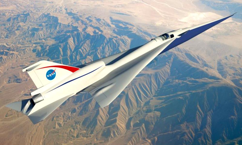 Contre la pollution sonore, la NASA invente l'avion silencieux