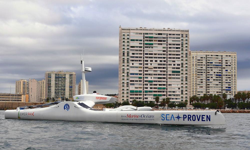 Ce drone nautique parcourt la Méditerranée pour sauver les cachalots