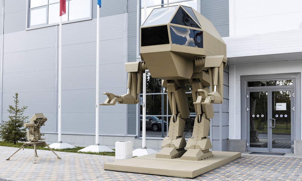 50% Star Wars 50% Transformers: Kalachnikov dévoile son Robocop