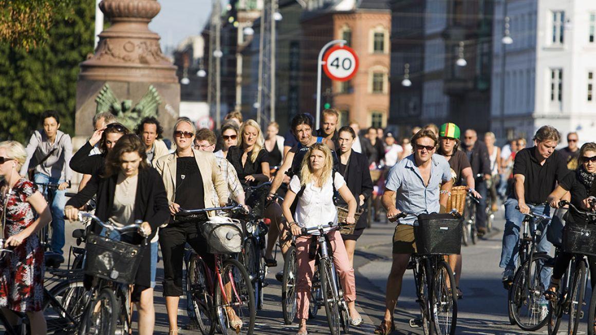 À Copenhague, il y a officiellement plus de vélos que de voitures